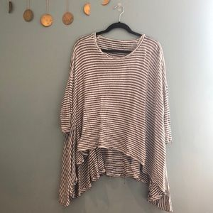 Free people oversized circle T-shirt